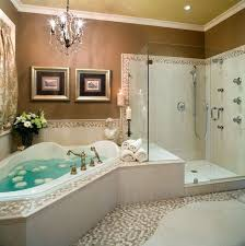 bathroom astonishing spa like bathrooms to clean your mind and spirit luxury bathroom luxury corner bathtub and shower