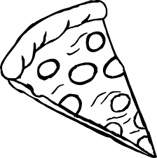 Small Picture Pizza Coloring Pages Letter P Is For Pizza Coloring Page Free