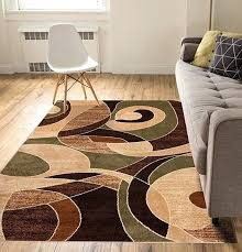 calm chaos multi green modern casual geometric area rug easy to clean rugs how large at cleaning area