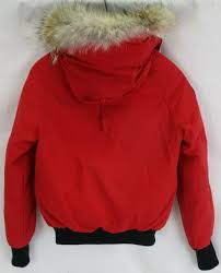 Red Bomber Canada Goose Jacket Gift Card Down Chilliwack