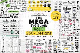 Create free svg monogram files with our app from a large selection of fonts and frames. The Huge Crafter S Dream Bundle Graphic By Redearth And Gumtrees Creative Fabrica