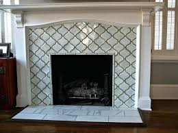 moroccan tile fireplace tiled fireplace moroccan tile fireplace surround