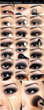 smoky eye make up tutorial for party