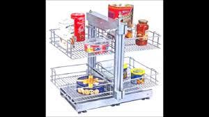 Kitchen Basket Sonia Magic Carousel Corner Unit Kitchen Basket And