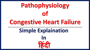 Pathophysiology Of Chf Congestive Heart Failure Pathophysiology Simple Explaination In