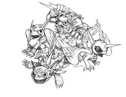 Skylanders Coloring Pages To Print - fablesfromthefriends.com