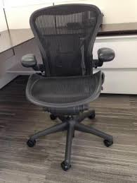 aeron office chair used. herman miller aeron chairs size \ office chair used