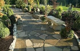 fresh cost of flagstone patio and backyard ideas medium size flagstone s walkway costs advantages cost