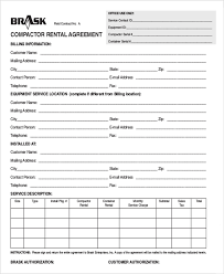 Free Rental Form Tool Rental Form Ohye Mcpgroup Co