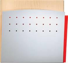 Peter Pepper 4001h File Medical Chart Holder Wall Door Mounted Hipaa Application