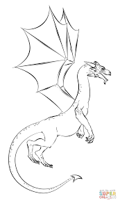 Small Picture Realistic Dragon coloring page Free Printable Coloring Pages