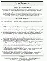 Medical Office Resume Objective Examples