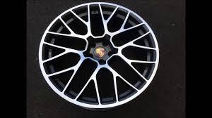 Porsche 20 Rs Spyder Design Wheels Jantes Alu Porsche Macan Rs Spyder 20 Pouces Wsp Italy W1056