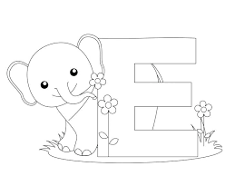 Free Coloring Pages Alphabet Letters Free Printable A Z Coloring