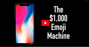 iphone 1000. introducing the $1,000 emoji machine (nsfw iphone x parody video) - mac observer iphone 1000