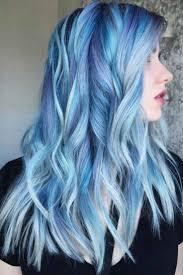 Pastel Light Blue Hair Light Blue Hair Pastel Blue Hair Dyed Hair Blue Light