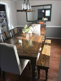 james james l x w baer table with a traditional top and endcaps stained vintage dark walnut with a semi gloss finish pictured with william chairs and