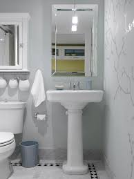 a pedestal sink make lovely bathroom addition 5 unique ways to style smaller bathrooms home and