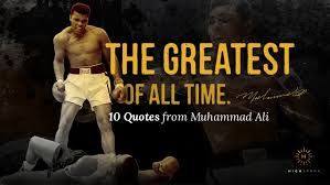 Image result for Ali is considered one of the best boxers of all time