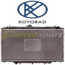 Nissan Patrol GU Y61 TD42 & TD42T Manual Aluminium Radiator