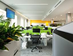 ebay office. Rows Of Green Workstations And Plants In Designer Office Fit Out Ebay I