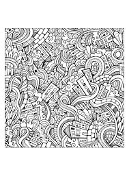 Doodling Doodle Art Coloring Pages For