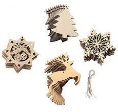 Weihnachtsbaumanhänger Glocken Tannzapfen Kugeln Und Mehr