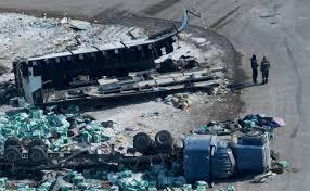 Photos: Canada mourns after bus crash kills 15 | World | wiscnews.com