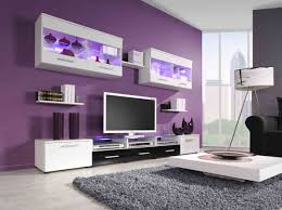 Purple Living Room Furniture Violet Room Decor