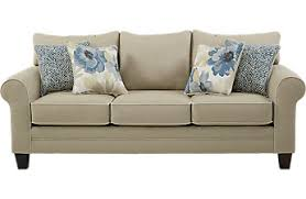 pull out sofa bed. Spring Blooms Beige Sleeper Pull Out Sofa Bed A