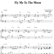 Sheet music arranged for piano/vocal/guitar, singer pro, and transcription in d minor (transposable). Fly Me To The Moon Piano Sheet Music Pdf Free Best Music Sheet