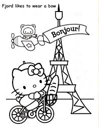Ratatouille And Paris Coloring Pages For Kids Printable Free At ...