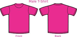 T Shirt Template Enchanting Pink Shirt Template Clip Art At Clker Vector Clip Art Online