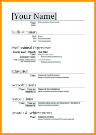 Creating A Resume Template Classy Use A Resume Template Microsoft Word 48 Creating Resumes In 48