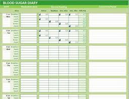Daily Blood Sugar Chart Blood Sugar Diary Sada Margarethaydon Com