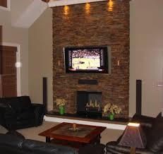 modern stone fireplace wall ideas fireplace designs