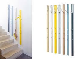 wall mounted coat storage schnbuch design milk modern wall mounted coat rack home wallpaper