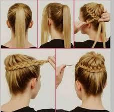 Idée Coiffure Rapide Cheveux Mi Long