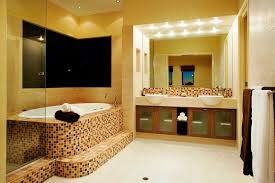 Bathroom Wall Paint Yellow Bathroom Wall Paint Ideas With Square Mirror And Luxury