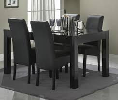 Table à Manger Noire Table De Cuisine Blanche Avec Rallonge