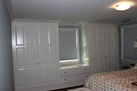 Bedroom Built In Closets How To Build Closets Around A Window Making A Window Seat Google