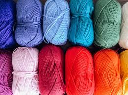 full frame shot of multi colored wool