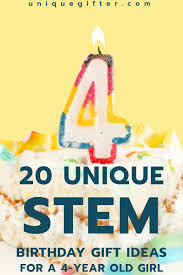 20 STEM Birthday Gift Ideas for a 4 Year Old Girl - Unique Gifter
