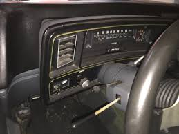 my install on a intellitronix 6 gauge led cluster in a 1978 elky then i started pulling the gauge pod apart and taped the metal piece so i can make my lines i put it about where the original speedometer was or close