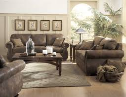 Rustic Leather Living Room Furniture Country Decorating With Leather Furniture Dazzling Dining Table