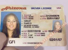 Buy Great Arizona Id Fake Card