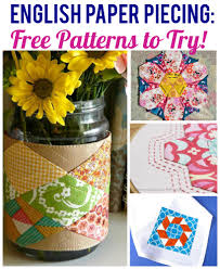Paper Piecing Patterns Free Extraordinary English Paper Piecing Free Patterns
