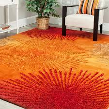 zipcode design hirschman rust orange area rug reviews wayfair for plans 0