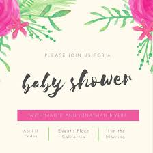 Baby Shower Invitations That Can Be Edited Customize 832 Baby Shower Invitation Templates Online Canva