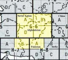 Vfr Sectional Charts Online Afghanistan Aeronautical Charts Perry Castañeda Map